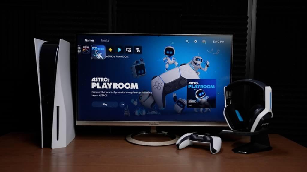 Monitores para jugar en ps5